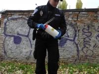městská-policie-MP-Brno-Kohoutovice-akce-jehla-06