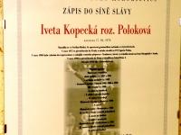 Kohoutovická olympijská hvězda - Iveta Kopecká (rozená Poloková)-brno-kohoutovice-mojekohoutovice-2