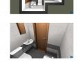 Vizualizace garsonka sprcha Stamicova BJ3