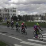 Kohoutovicemi projel cyklistický závod a zastavil dopravu