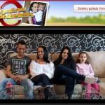 Kohoutovice na televizních obrazovkách