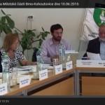 Videozáznam z IV. zasedání Zastupitelstva Městské části Brno-Kohoutovice dne 10.06.2015