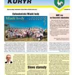 Kohoutovický kurýr – červenec, srpen 2015