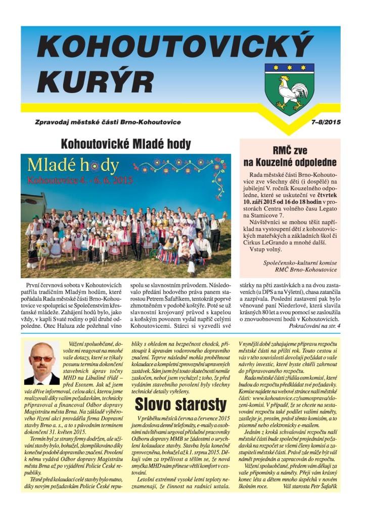 Kohoutovický-kurýr-brno-červenec-srpen-201501