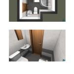 Vizualizace rekonstrukce bytových jader – Stamicova 1,3,5 a Bellova 34,36,38