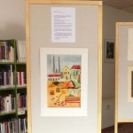 Martin Hodek vystavuje obrazy v Knihovně Jiřího Mahena v Brně-Komárově