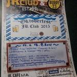 Kohoutovický JR club chystá OKTOBERFEST