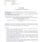 Oznámení o zahájení stavebního řízení – Stavební úpravy s vestavbou technického zařízení evakuačního výtahu v Domě s pečovatelskou službou