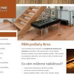 PBM podlahy Brno-Kohoutovice