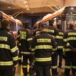 Ve vozovně Komín hořel trolejbus – na štestí jen jako