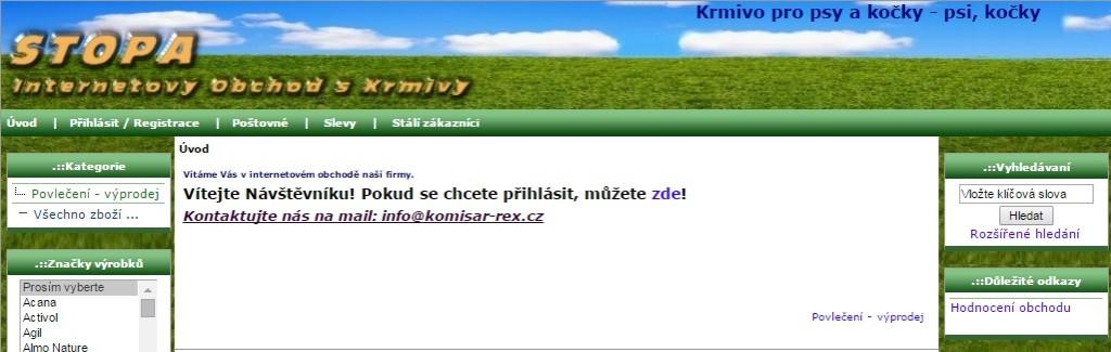 krmivo-pro-psy-a-kočky-Brno-kohoutovice