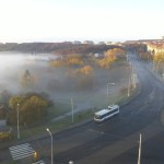 Kohoutovice zalila mlha