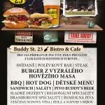 Bistro Buddy st.23 na Jírovcové otevře již zítra!
