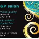 B&P salon – kadeřnické služby, nehtová modeláž a prodlužování řas