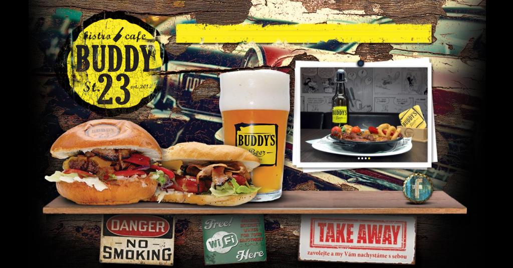 buddy-23-street-Brno-Kohoutovice-restaurace-hamburger-jídlo-libušina-třída-23