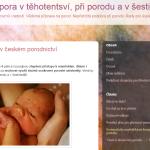 Barbora Stravová: dula studentka – certifikovaná poradkyně při kojení