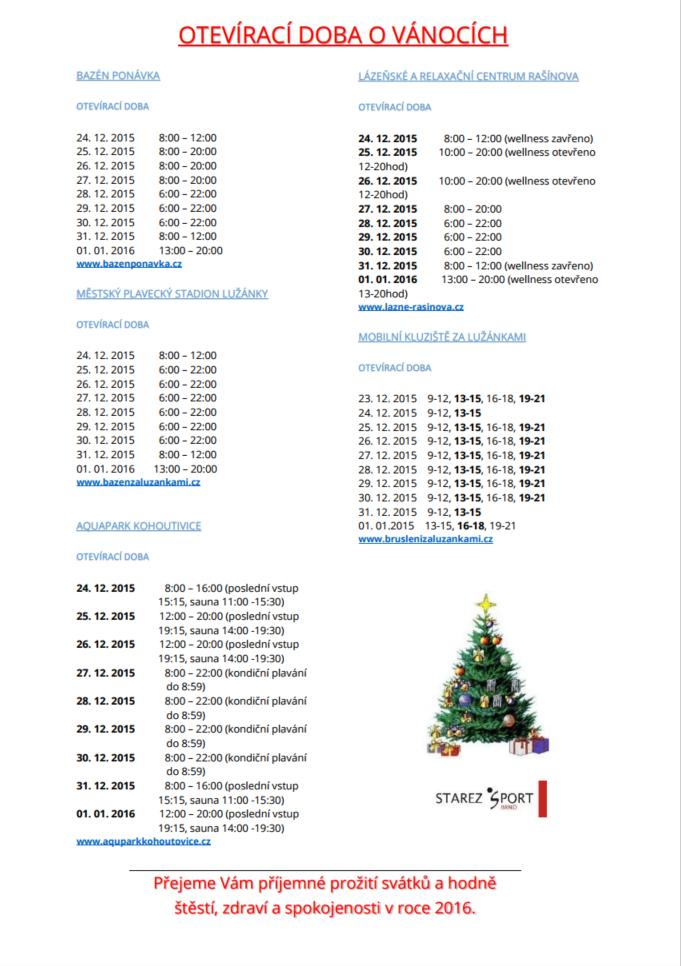 otvírací-doba-aquapark-brnop-kohoutovice-vánoce