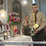 Kohoutovičtí skauti převzali ve Vídni betlémské světlo pro celou ČR!