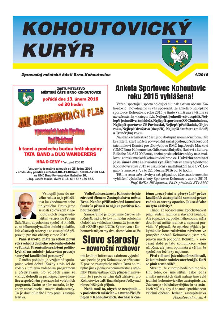 Kohoutovický-kurýr-mojekohoutovice-brno-kohoutovice-leden-2016-01