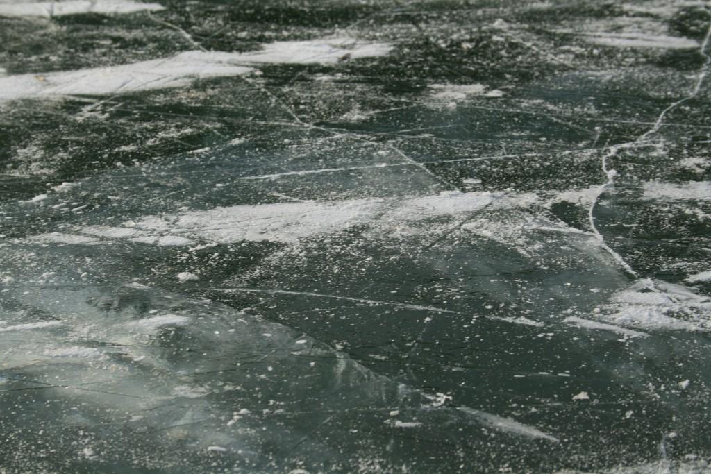 led-bruslení-rybník