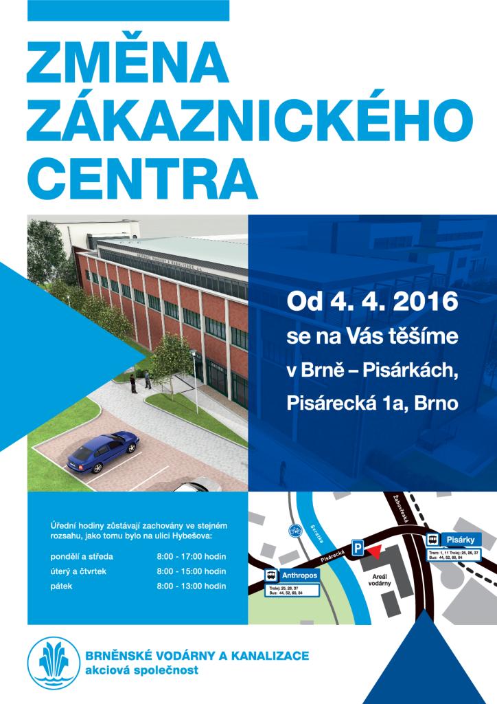Oznámení - Brněnské vodárny a kanalizace mojekohoutovice brno-kohoutovice