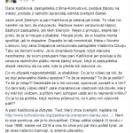 Zastupitel Bystrce: Kohoutovický starosta je zbabělec, Kalčíková je dobytek a udavačka