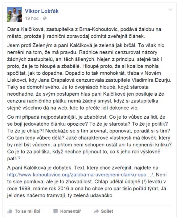 Viktor-Lošťák-Brno-Kohoutovice-Dana-Kalčíková-mojekohoutovice-bystrc-zastupitel