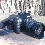 Ztráty a nálezy: fotoaparát – PENTAX 19-55 II k-x