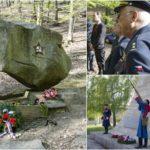Kohoutovice si připoměly osvobození Brna u pomníku letce Kašutina