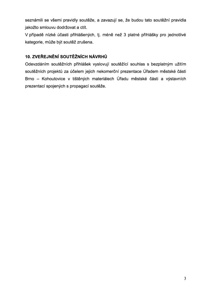 """VYHLÁŠENÍ SOUTĚŽE """"KOHOUTOVICE PŘEDZAHRÁDKA 2016"""" - brno-kohoutovice-mojekohoutovice-3"""