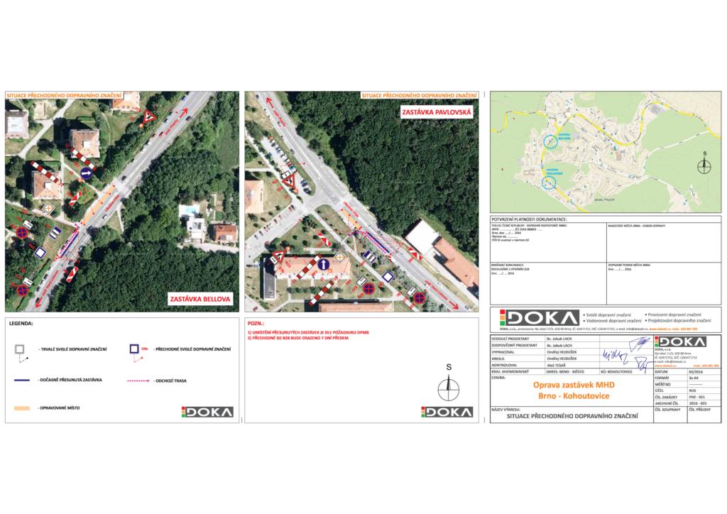 Veřejná vyhláška DOKA_Libusina_trida-bellova-Pavlovská-zastávka-doprava-brno-kohoutovice-mojekohoutovice-projekt