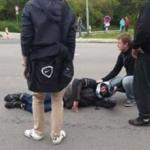 Dopravní nehoda dvou motorek a osobního automobilu na Libušině třídě – 1.5.