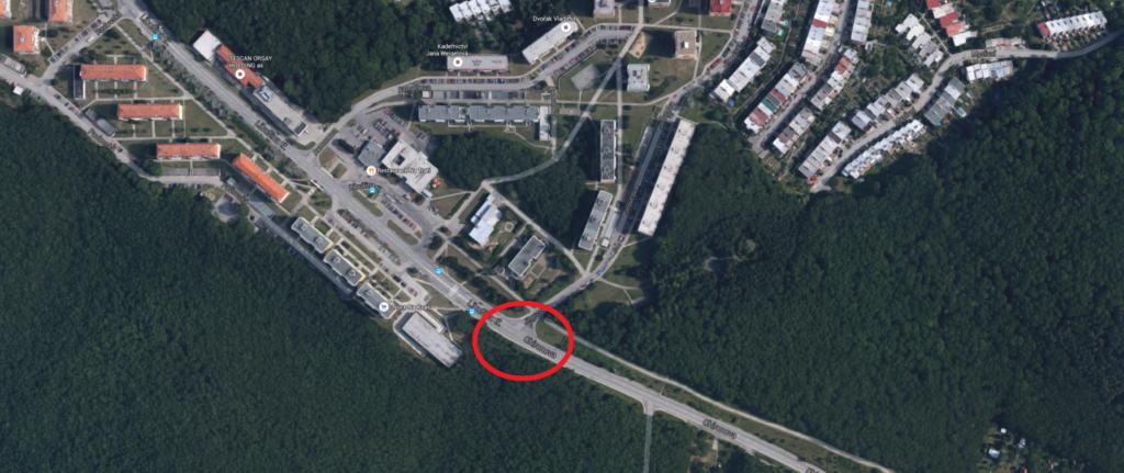 dopravní-nehoda-brno-kohoutovice-mojekohoutovice-libušina-třída-chironova-Jirovcova-motorka-mapa