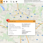 Havárie vody -ul. Žebětínská