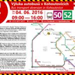 Výluka autobusů Kohoutovice – Stará dálnice – sobota 4.6.