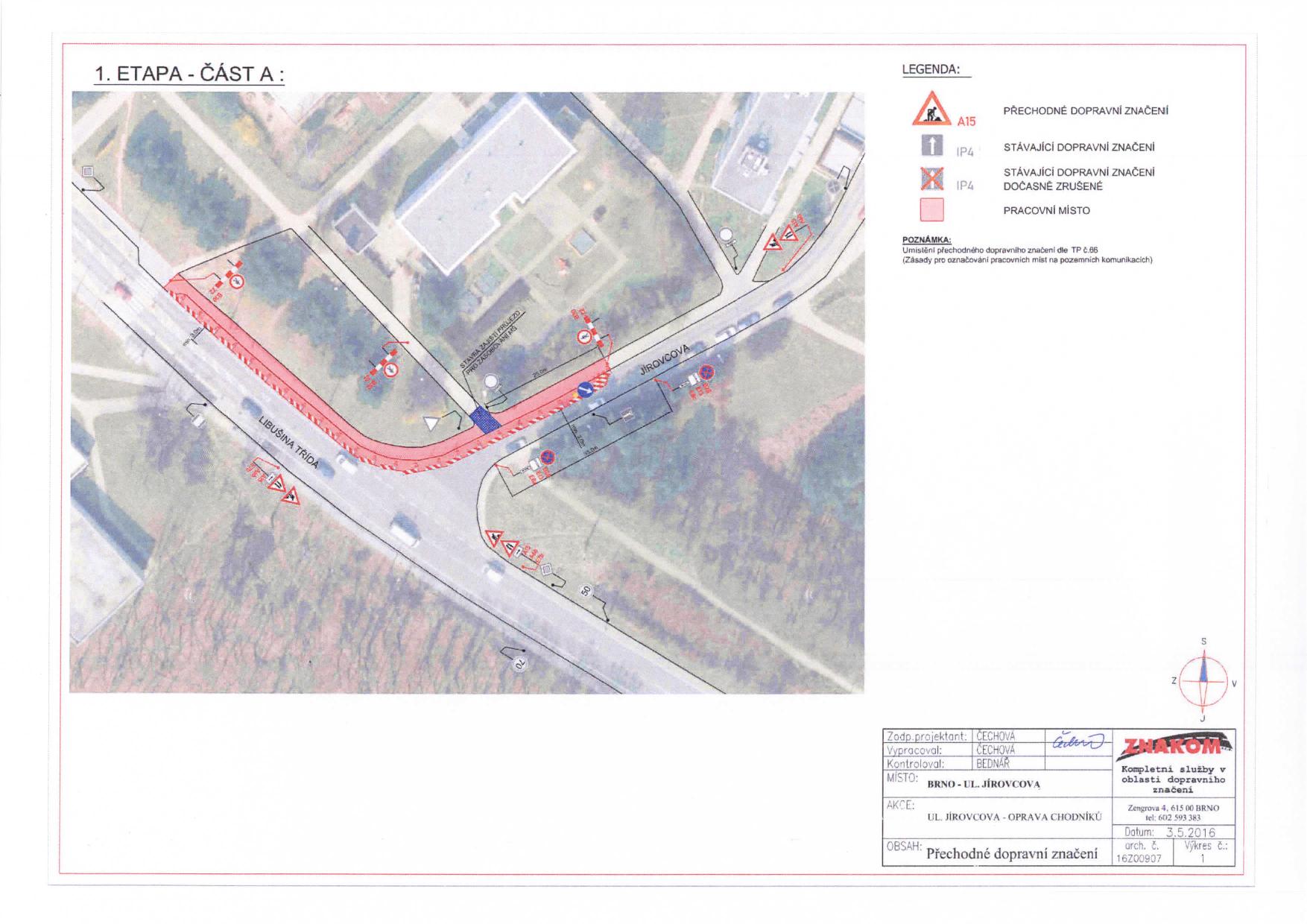 Stanovení přechodné úpravy provozu na komunikacích Jírovcova, Libušina třída, Chironova brno-kohoutovice-mojekohoutovice-04