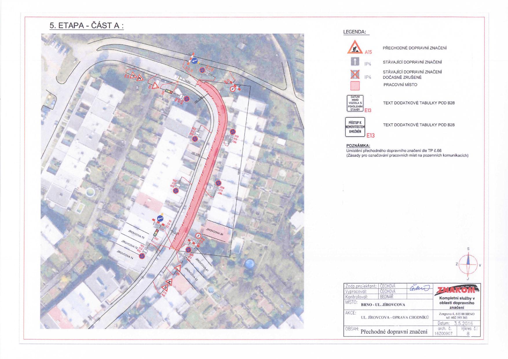 Stanovení přechodné úpravy provozu na komunikacích Jírovcova, Libušina třída, Chironova brno-kohoutovice-mojekohoutovice-11