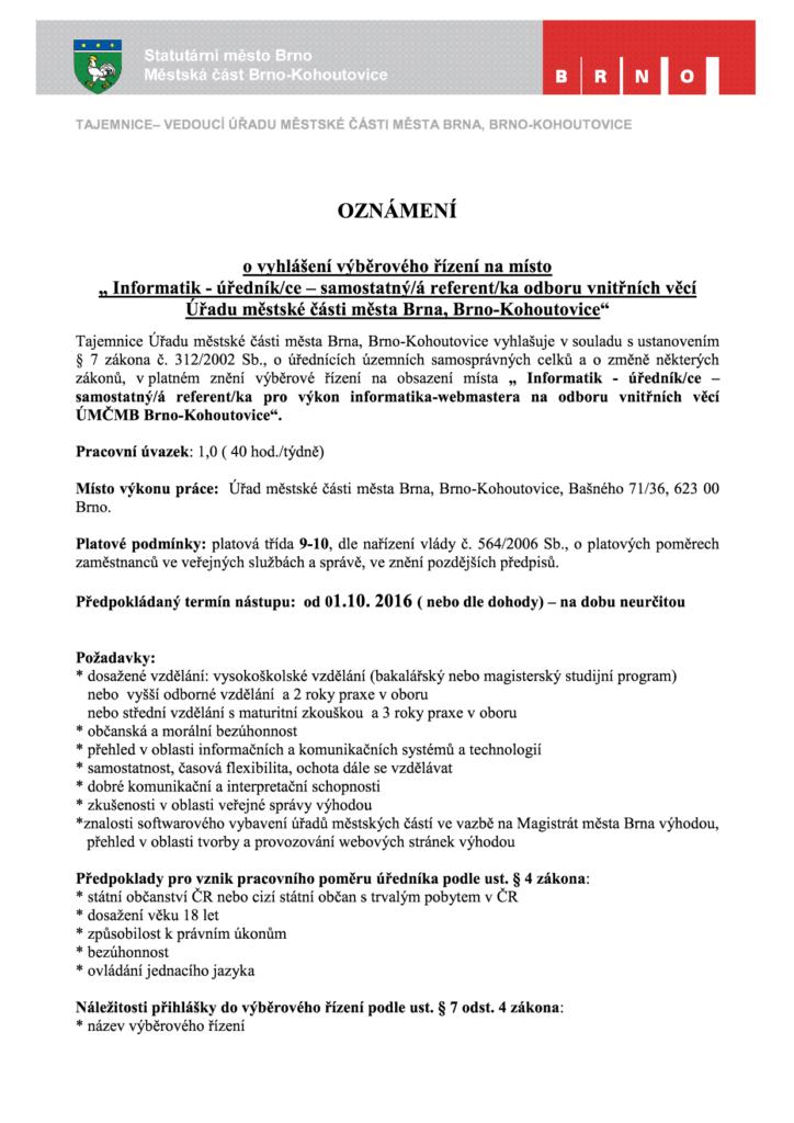 výběrové-řízení-informatik-brno-kohoutovice-mojekohoutovice-1
