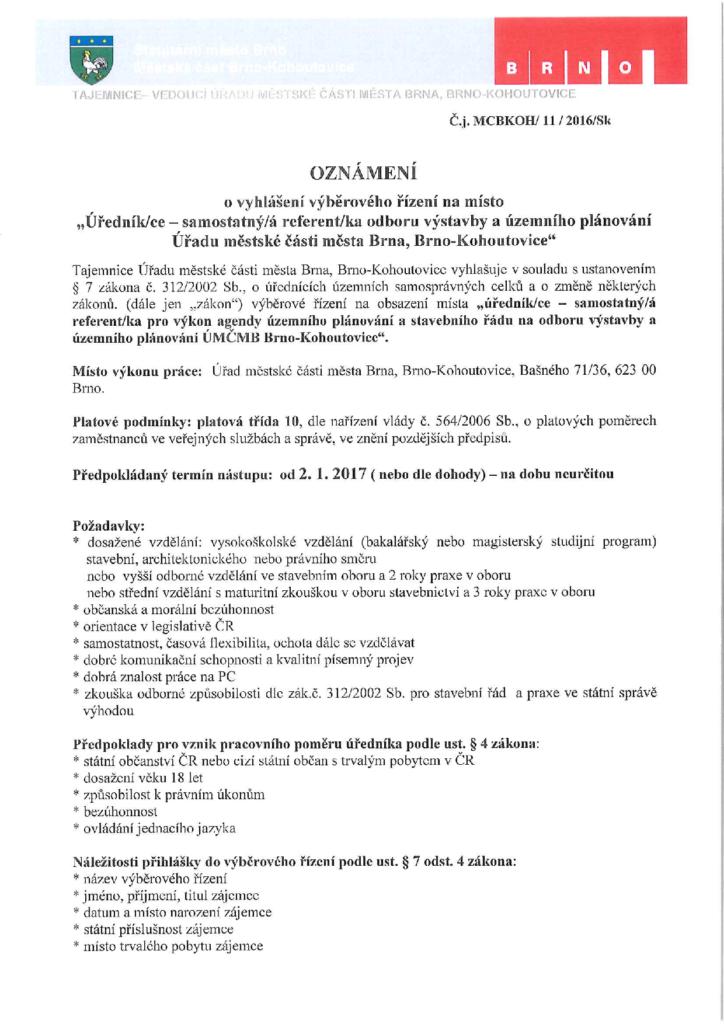 nabidka-prace-urednik-brno-kohoutovice-mojekohoutovice1