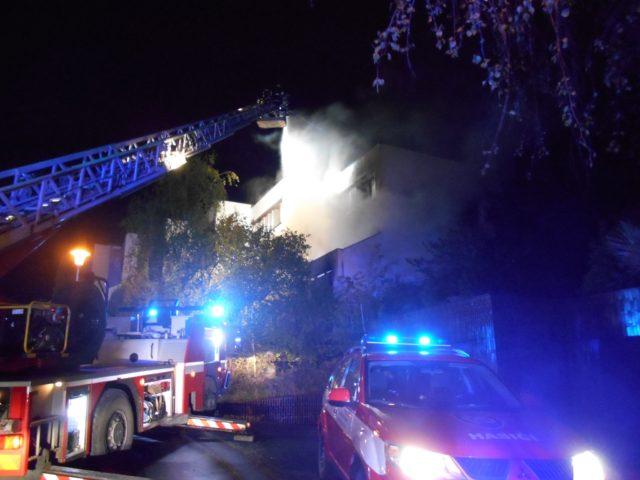 Požár v Kohoutovicích: Rodinný dům na Řadové zachvátil oheň