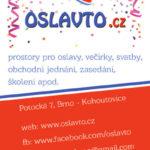 OslavTo.cz – prostory pro soukromé oslavy narozenin, dětské oslavy, večírky, promoce, svatby, firemní akce apod