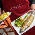 Fish&Grill akce v Leháru – výborné ryby a krevety, zajímavá podívaná v podobě filetování ryb!