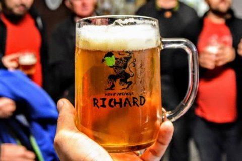 Exkurze do pivovaru, aneb luxusní zážitek v žebětínském minipivovaru Richard!
