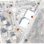 """II. etapa přebudování křižovatky u """"staré dálnice"""" se dotkne i Kohoutovic – """"kruháčem"""" u LIDLu povede objízdná trasa"""