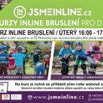 Kurz inline bruslení pro děti z Kohoutovic