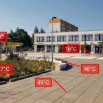 16 °C až 72 °C – takový rozdíl teplot jsem naměřil minulý týden u nás v Kohoutovicích