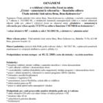 Výběrového řízení – Účetní – samostatný/á referent/ka – finančního odboru