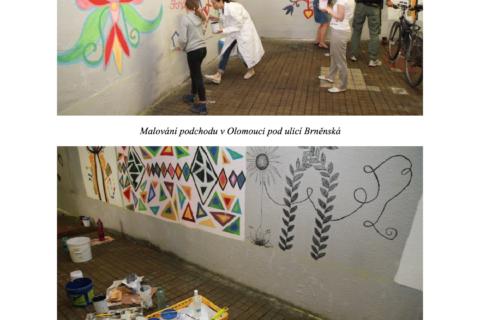 """Projekt """"malování podchodu"""""""
